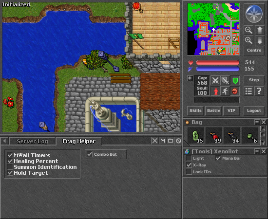 Tibia XenoBot 10.57 Download Uifraghelp